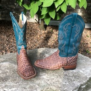 Anderson bean elephant cowboy boots